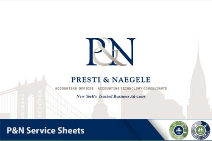 P&N Service Sheets